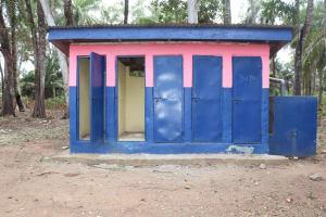 The Water Project: Saint Paul's Roman Catholic Primary School -  School Latrine Boys Block