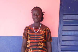 The Water Project: Saint Paul's Roman Catholic Primary School -  Teacher Isatu Momodu Samura
