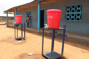 The Water Project: SLMC Primary School -  Hand Washing Stations