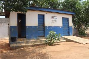 The Water Project: SLMC Primary School -  School Latrine Girls Block