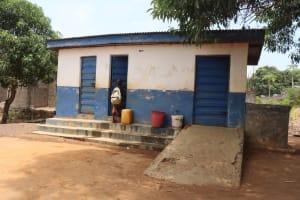 The Water Project: SLMC Primary School -  School Latrine Boys Block