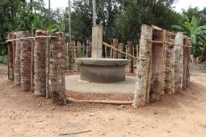 The Water Project: Kamasondo, Raka Village -  Main Well