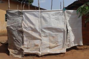The Water Project: Rotifunk, #4 Abidjan Street -  Bath Shelter