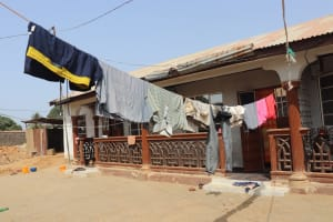 The Water Project: Rotifunk, #4 Abidjan Street -  Clothes Line