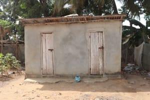 The Water Project: Rotifunk, #4 Abidjan Street -  Latrine