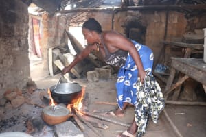 The Water Project: Rotifunk, #4 Abidjan Street -  Woman Cooking