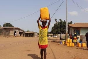 The Water Project: Rotifunk, #4 Abidjan Street -  Girl Carrying Water