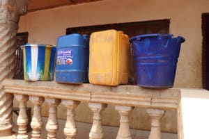 The Water Project: Rotifunk, #4 Abidjan Street -  Water Storage Container