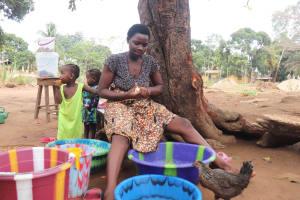 The Water Project: Masoila, 28 Conteh Street -  Girl Preparing Food