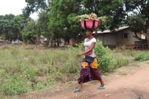 The Water Project: Masoila, 28 Conteh Street -  Woman Trading