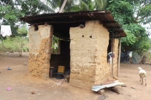 The Water Project: Masoila, 28 Conteh Street -  Kitchen