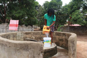 The Water Project: Masoila, 28 Conteh Street -  Water At Alternate Source