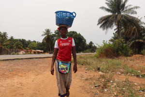 The Water Project: Tombo Lol, next to Agricultural Center -  Woman Trading