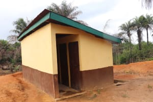 The Water Project: Lokomasama, Mapiterr, Al Kitab Primary School -  Latrine Boys Block