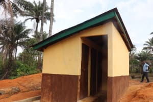 The Water Project: Lokomasama, Mapiterr, Al Kitab Primary School -  Latrine Girls Block