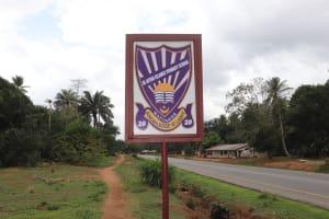 The Water Project: Lokomasama, Mapiterr, Al Kitab Primary School -  School Sign Board