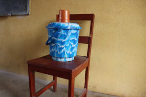 The Water Project: Lokomasama, Mapiterr, Al Kitab Primary School -  Water Container In