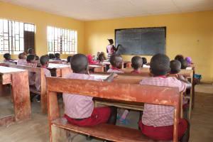 The Water Project: Lokomasama, Mapiterr, Al Kitab Primary School -  Students In Classroom