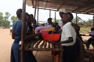 The Water Project: Kingsway Secondary School -  Sierraleone Students Buying Food