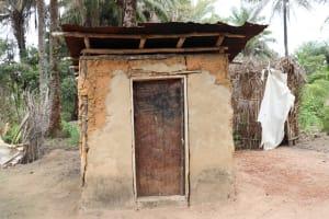 The Water Project: Kamasondo, Feradugu Village -  Latrine