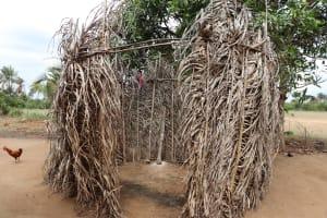 The Water Project: Kamasondo, Feradugu Village -  Bath Shelter