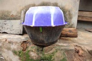 The Water Project: Kamasondo, Raka Village -  Water Storage Container