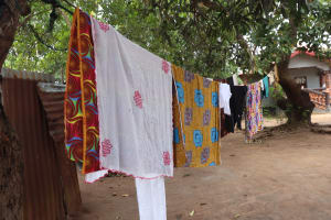 The Water Project: Masoila, 28 Conteh Street -  Clothesline