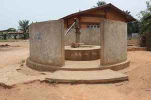 The Water Project: Tombo Lol, next to Agricultural Center -  Well To Rehab