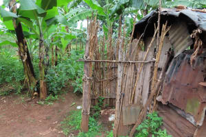 The Water Project: Isagara Primary School -  Bathing Shelter