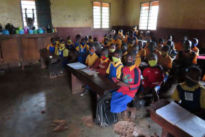 The Water Project: Isagara Primary School -  Students Attending Class