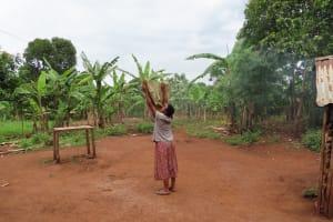 The Water Project: Isagara Primary School -  Clothesline
