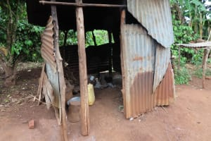 The Water Project: Isagara Primary School -  Outside Kitchen