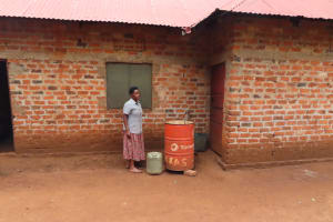 The Water Project: Isagara Primary School -  Water Storage And Harvesting