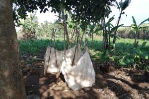 The Water Project: Kyamaiso Community -  Bathing Shelter
