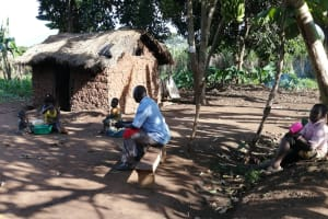 The Water Project: Kyamaiso Community -  People Resting