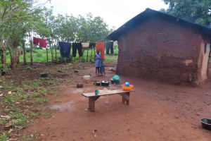 The Water Project: Kyamaiso Community -  Family Compound