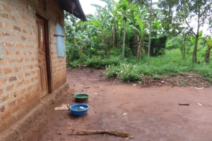 The Water Project: Kyamaiso Community -  Rain Water Containers