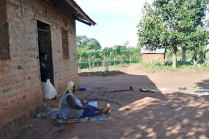 The Water Project: Kyamaiso Community -  Resting