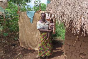 The Water Project: Rwenkole Community -  Bath Shelter
