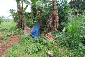 The Water Project: Rwenkole Community -  Bathing Shelter