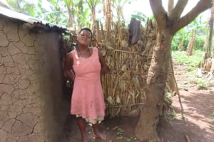 The Water Project: Rwenkole Community -  Bathing Shelters
