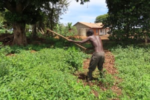 The Water Project: Rwenkole Community -  Digging