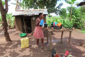 The Water Project: Rwenkole Community -  Dishrack