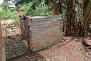 The Water Project: Rwenkole Community -  Metal Bath Shelter