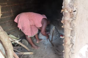 The Water Project: Rwenkole Community -  Cooking Fire