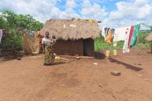 The Water Project: Rwenkole Community -  Doing Laundry
