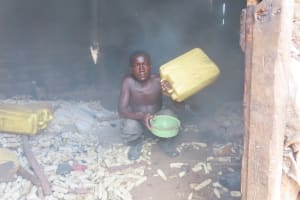 The Water Project: Rwenkole Community -  Inside Kitchen
