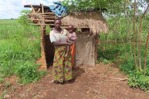 The Water Project: Rwenkole Community -  Latrine