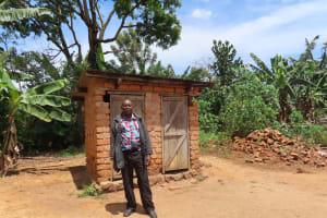 The Water Project: Rwenkole Community -  Latrines