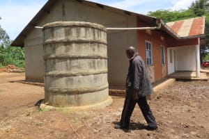 The Water Project: Rwenkole Community -  Storage Container